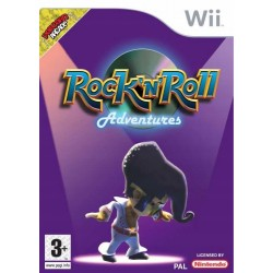 Rock'n'roll Adventures WII używana ENG