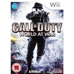 Call of Duty World at War WII używana ENG