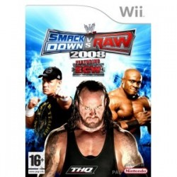 WWE SmackDown vs Raw 2008 WII używana ENG