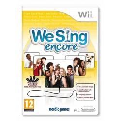We Sing Encore WII używana ENG