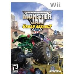 Monster Jam Urban Assault WII używana ENG