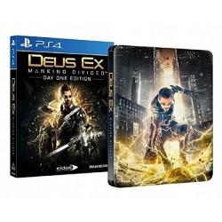 Deus Ex Mankind Divided Steelbook Edition PS4 używana PL