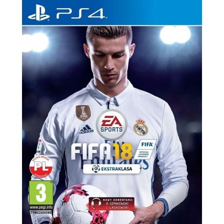 FIFA 18 PS4 używana PL