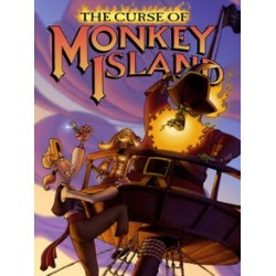 The Curse of Monkey Island PC nowa ENG