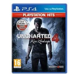Uncharted 4 Kres Złodzieja PS4 używana PL