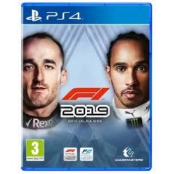 F1 2019 PS4 używana ENG