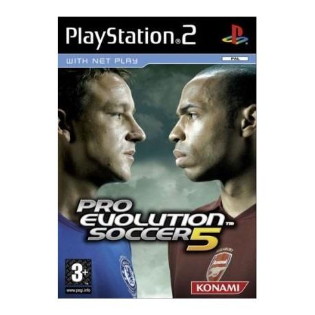 Pro Evolution Soccer 5 PS2 używana ENG
