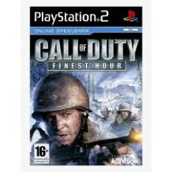 Call of Duty Fines Hour PS2 używana ENG