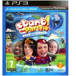 Start The Party! Save The World PS3 używana ENG