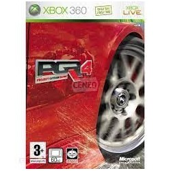 Project Gotham Racing 4 X360 używana ENG