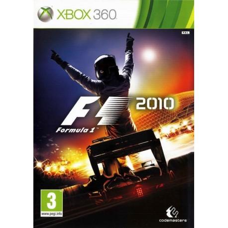 F1 2010 X360 używana ENG
