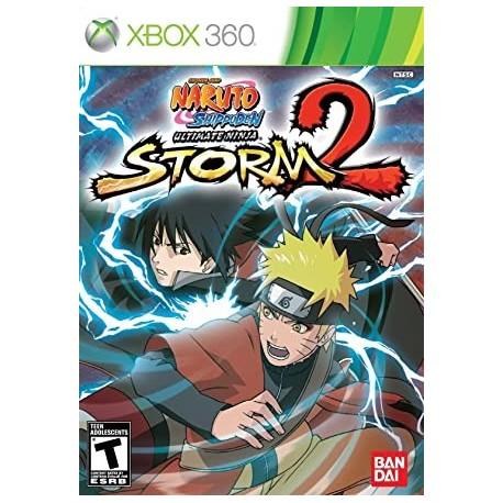 Naruto Shippuden Ultimate Ninja Storm 2 X360 używana ENG