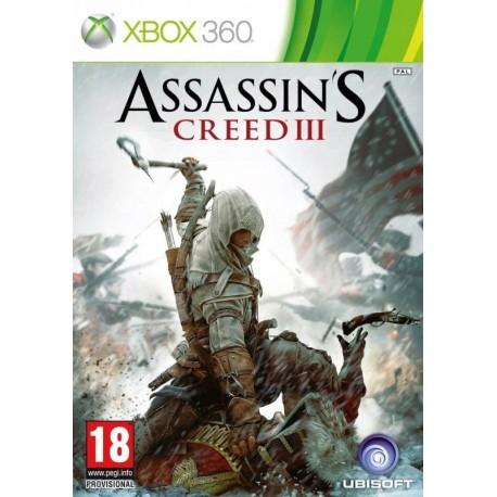 Assassin's Creed III X360 używana ENG