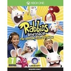 Rabbids Invasion Interaktywny Program TV XONE używana PL