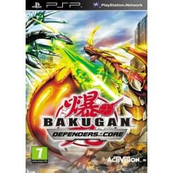 Bakugan Defenders of the Core PSP używana ENG