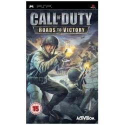 Call of Duty Roads to Victory PSP używana ENG